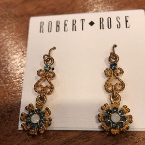 NWT crystal drop earrings
